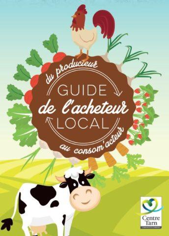 COuverture du guide des producteurs locaux