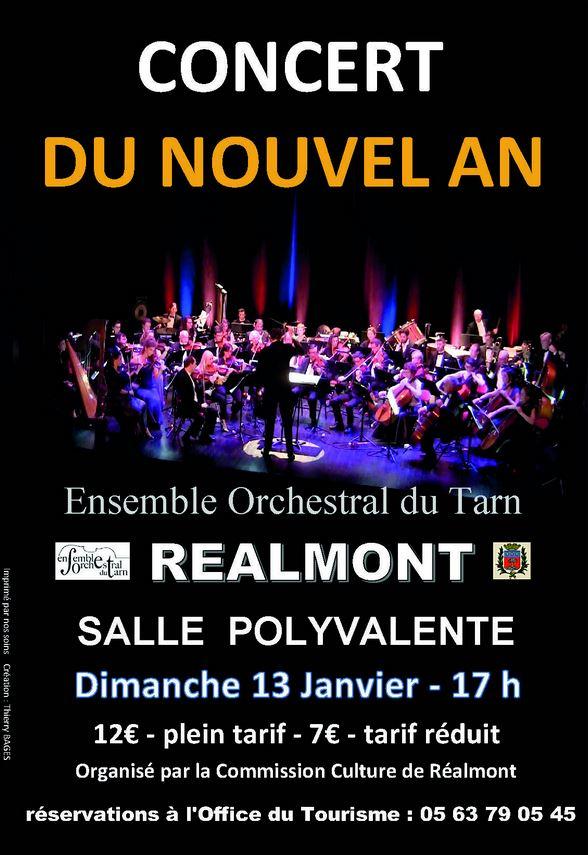 Concert du Nouvel An à Réalmont