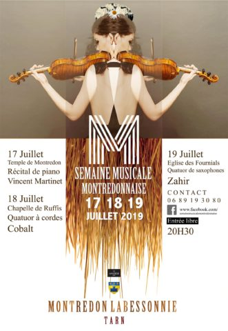 Semaine Musicale à Montredon-Labessonnié
