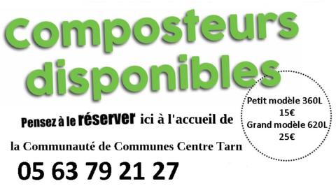 Réservation de composteur