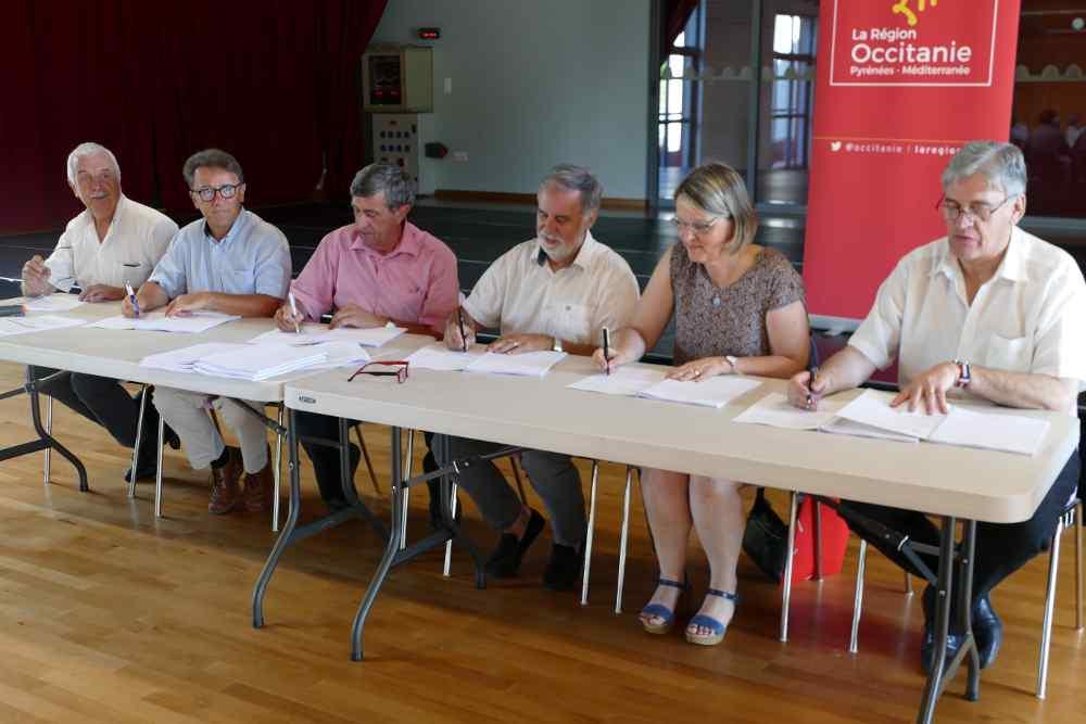 Signature d'un Contrat Territorial Occitanie