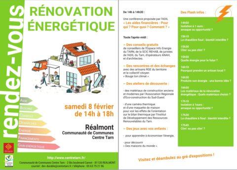 Rendez-vous Rénovation Énergétique à Réalmont
