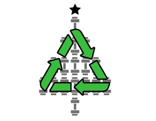 Compostez votre sapin de Noël !