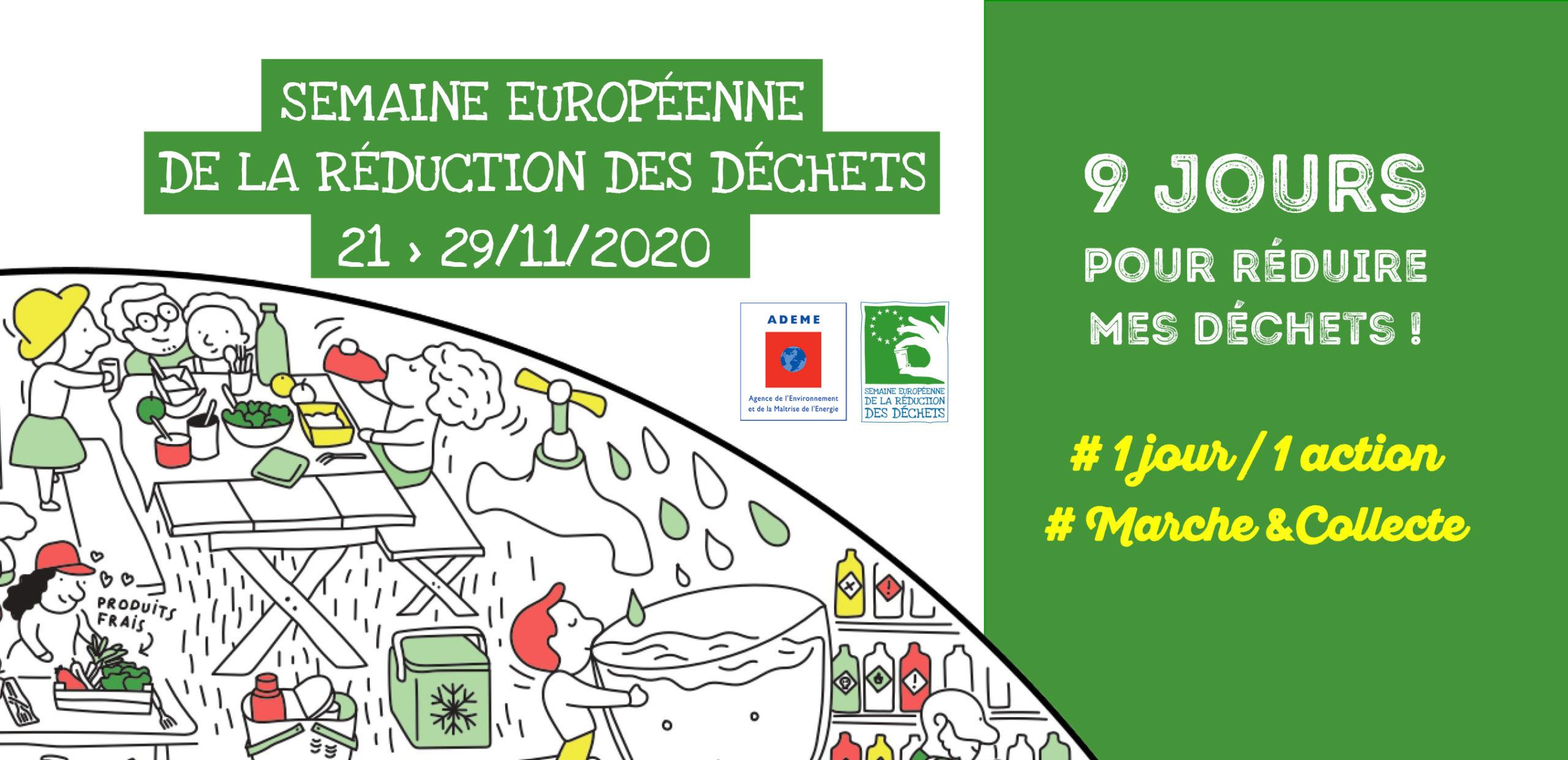 Semaine européenne de la réduction des déchets du 21 au 29 novembre 2020