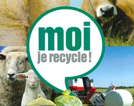 Collecte pour la filière agricole des plastiques, ficelles et filets